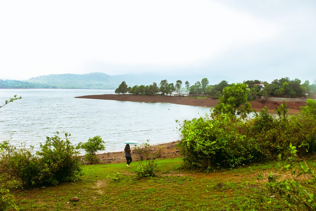 Lake close to native place